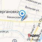 Новый на карте Астрахани