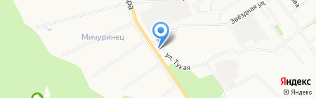 Кафе в Звездном на карте Йошкар-Олы