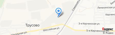 Авдеев В.С. на карте Биштюбинки