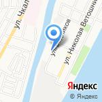 Центр Государственной инспекции по маломерным судам на карте Астрахани
