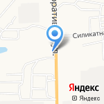 Золотая клетка на карте Астрахани