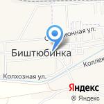 Намус на карте Астрахани