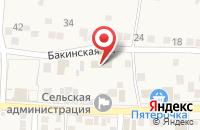 Схема проезда до компании Почтовое отделение в Старокучергановке