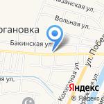 Старокучергановский сельсовет на карте Астрахани