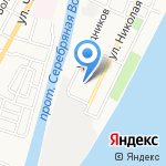 Детский сад №77 на карте Астрахани