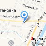 Кучергановское потребительское общество на карте Астрахани