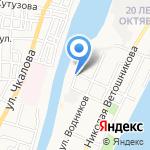 Магазин табачной продукции на карте Астрахани
