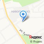Лимузин Hummer на карте Йошкар-Олы
