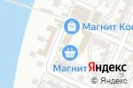 Схема проезда до компании Васильевский в Астрахани