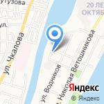 Счастливый ребёнок на карте Астрахани