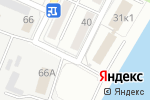 Схема проезда до компании ТВОЯ в Астрахани