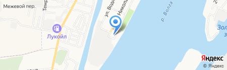 Детская консультация на карте Астрахани