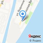 Айсберг на карте Астрахани
