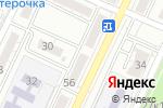 Схема проезда до компании Продукты 5+ в Астрахани