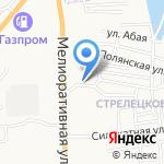 Прелесть на карте Астрахани