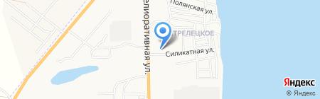 Покупочка на карте Астрахани