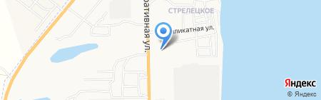 Продовольственный магазин на Мелиоративной на карте Астрахани
