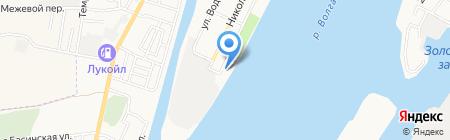 СП-ШИППИНГ на карте Астрахани