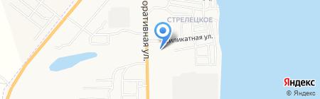 Хозяйственный магазин на Мелиоративной на карте Астрахани