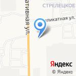 Улыбка на карте Астрахани
