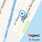 Наталья на карте Астрахани