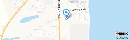 Продуктовый магазин на Мелиоративной на карте Астрахани