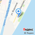 Детский сад №90 на карте Астрахани
