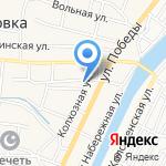Аструм на карте Астрахани