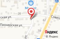 Схема проезда до компании Аструм в Старокучергановке