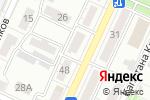 Схема проезда до компании ПКФ Фиалка в Астрахани