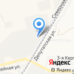 Волгоградский кислородный завод на карте Астрахани
