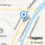 Райтер на карте Астрахани