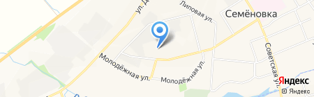 Автосервис 12 на карте Йошкар-Олы