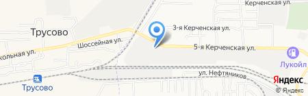 Промсервис на карте Астрахани