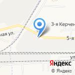 Шиномонтаж на карте Астрахани