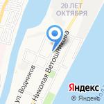 Небосвод на карте Астрахани
