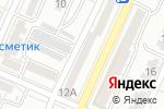 Схема проезда до компании Небосвод в Астрахани