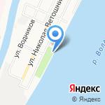 Русский самовар на карте Астрахани