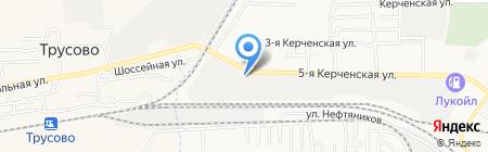 КубаньТехГаз на карте Астрахани