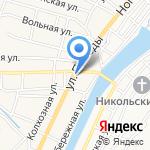 Валерия на карте Астрахани
