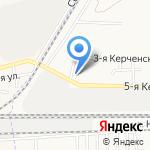 Евромойка на карте Астрахани