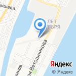 Транспортная безопасность на карте Астрахани