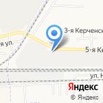 Снабпрофиль на карте Астрахани