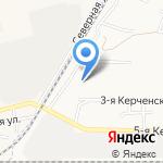 Армира на карте Астрахани
