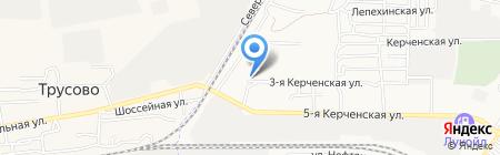 Амалия на карте Астрахани