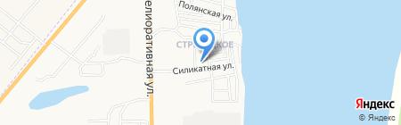 Детский сад №9 на карте Астрахани
