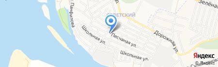 Почтовое отделение №19 на карте Астрахани