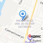 Начальная общеобразовательная школа №60 на карте Астрахани