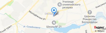 Детский сад №84 Аленушка на карте Йошкар-Олы