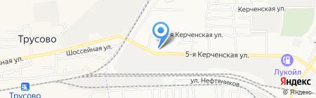 АСТ-Надежные Машины на карте Астрахани